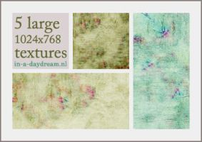 Textures, set 1 by in-a-daydream