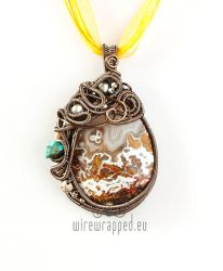 First Snow pendant by ukapala