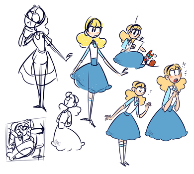 Concept doodles-Alice by Amii-stuff