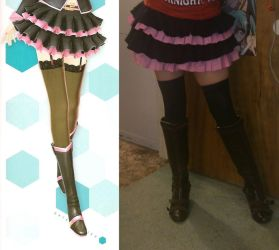 Miku Honey Whip Cosplay Progress by catgirlichigo