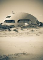 sand dome by FistsAfire