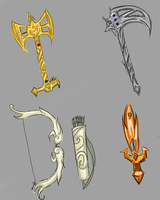Weapons by Keiggy