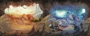 Brown Cave Copy by goweliang