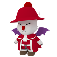 Moogle Redmage by SiverCat