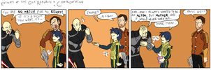 KotOR: Confrontation by surfersquid