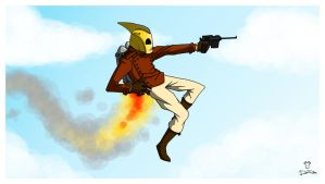 THE ROCKETEER... by ferwar
