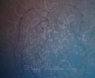 Happy Valentine's Day by Kristinekatara