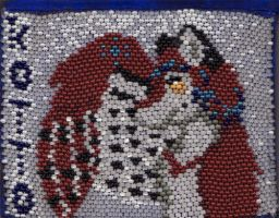 Kotto Beaded Badge by arikla