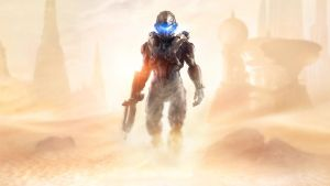 Halo 5 Guardians The New Guy by vgwallpapers