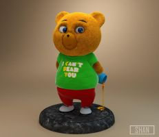 The Honey Bear by MaryShan