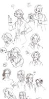 HP - HP7 sketchs by the-evil-legacy