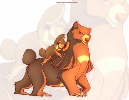 Teddiursa and Ursaring