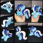 FOR SALE - MLP 6 inch mini Minuette/Colgate beanie