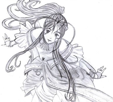 Belldandy FA by AkunichiTaiga