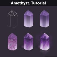 Amethyst. Tutorial by Anastasia-berry