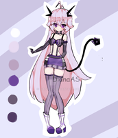 Demon adoptable CLOSED by Diana-AS