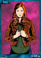 Amy Pond | Colourised by Cotterill23