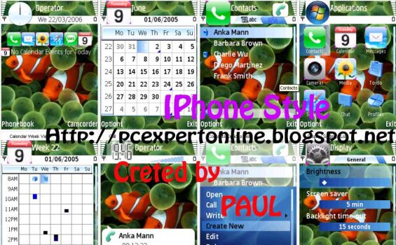 Apple_IPhone Symbian Theme by pcexpert91