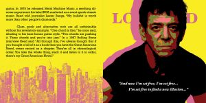 Lou Reed CD Pop-Art #4 by KRPgraphics