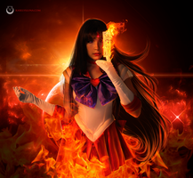 Sailor Mars by Karelys-Luna