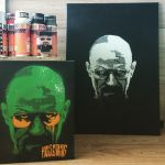 Breaking Bad Heisenberg Stencil by unclehappyofficial