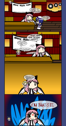 4Koma Friday: The Lunatic Travel Agent by DeityDiz93