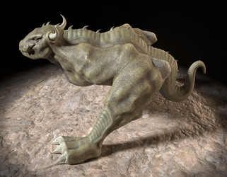 Bull Dragon - Turntable GIF by paulrich