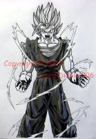 DBZ- Super Saiyan Vegetto by LordDiablo006