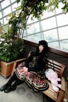 Casual - Elegant Lolita by Xeno-Photography