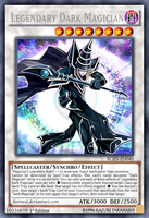 Legendary Dark Magician by BatMed