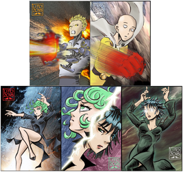 ATC/ACEO: One Punch Man prints by eleyeteaoh