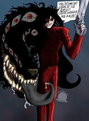 Hellsing Abridged Alucard by Blackmoonrose13