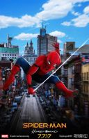 Spiderman Homecoming Poster by ajay02