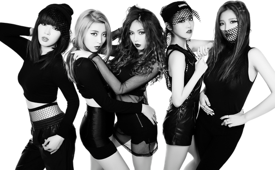 4Minute Render PNG by classicluv