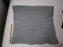 Chain mail M6 (WIP) 1500rings. by Gruntoks