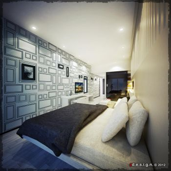 Bedroom_1D by Zorrodesign