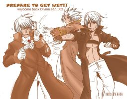 Get wet SPARDA+welcome back by xanseviera