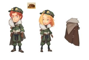 Clothes in My Time At Portia 5 by PatheaGames