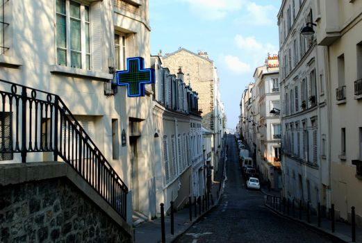 Just a normal street in Paris by Daskarina