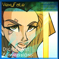 VexyFate Digital Art Commissions by VexyFate