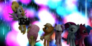 MMD G1 Ponies +DL by Invader-Alexis2