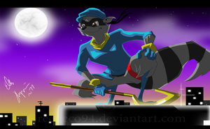 Sly Cooper by GreenEco94