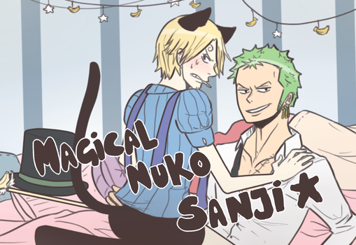 [ONE PIECE] Magical Nuko SANJI / ZOSAN by NathyLove5