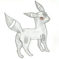 Umbreon by MadHatter-Echo