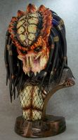 Predator 2 legendary scale bust touch up by mangrasshopper