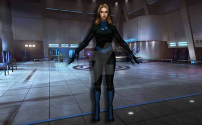 Invisible Woman by Pitermaksimoff