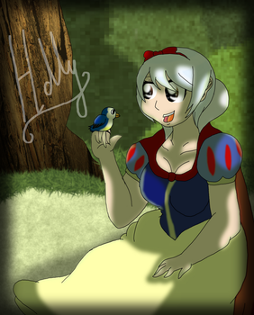 With a smile and a song by Holly2001