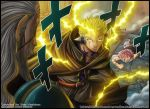 Hades vs Luxus - Fairy Tail - by diabolumberto