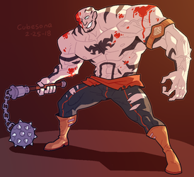 COMMISSION: Goliath by Cubesona