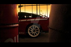 Gasstation by Caliart